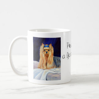 Yorkshire Terrier Bed Mug