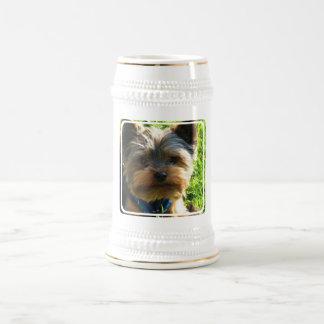 Yorkshire Terrier Beer Stein