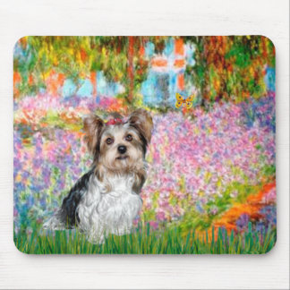 Yorkshire Terrier (Biewer) - Garden Mouse Pad