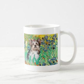 Yorkshire Terrier (Biewer) - Irises Coffee Mug