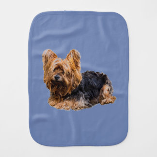 Yorkshire Terrier Burp Cloth