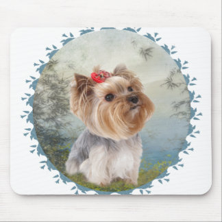 Yorkshire Terrier Charm Mouse Pad