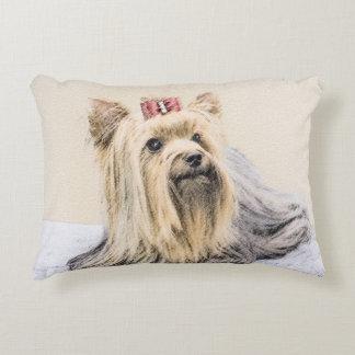 Yorkshire Terrier Decorative Pillow