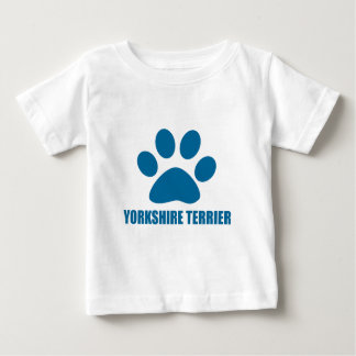 YORKSHIRE TERRIER DOG DESIGNS BABY T-Shirt
