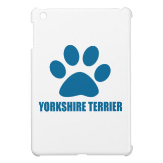 YORKSHIRE TERRIER DOG DESIGNS iPad MINI CASE