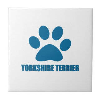 YORKSHIRE TERRIER DOG DESIGNS TILE