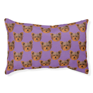 Yorkshire Terrier Dog,  Indoor Dog Bed - Small