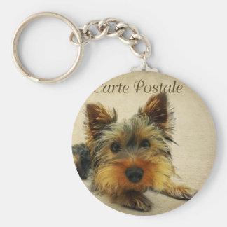 Yorkshire Terrier Dog Keychain