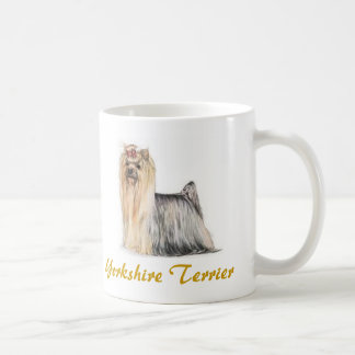 Yorkshire Terrier, Dog Lover Galore! Classic White Coffee Mug