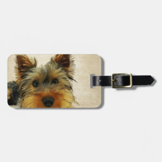 Yorkshire Terrier Dog Luggage Tag