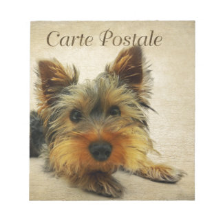 Yorkshire Terrier Dog Notepad
