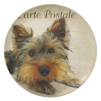 Yorkshire Terrier Dog Plate