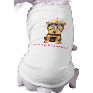 Yorkshire Terrier Dog Princess Pet clothing