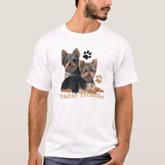 Yorkshire Terrier Double Trouble Apparel T-Shirt