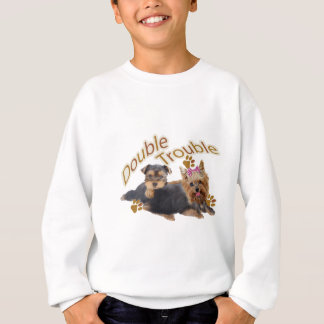 Yorkshire Terrier Double Trouble T-shirts