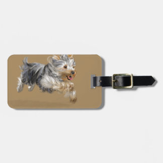 "Yorkshire Terrier ""Joy"" Bag Tag"