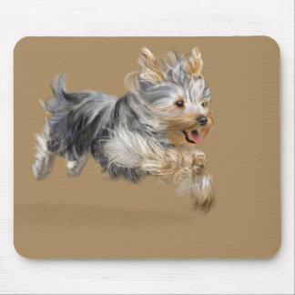 "Yorkshire Terrier ""Joy"" Mouse Pad"
