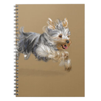 "Yorkshire Terrier ""Joy"" Notebook"