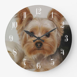 Yorkshire Terrier Large Clock