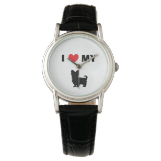 """""""Yorkshire Terrier"""" Leather Watch"""