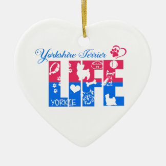 Yorkshire Terrier Life Ornament