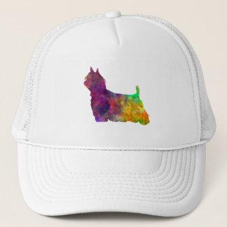Yorkshire Terrier Long Hair in watercolor Trucker Hat