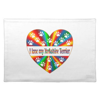 Yorkshire Terrier Love Placemat