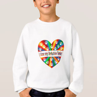 Yorkshire Terrier Love Sweatshirt