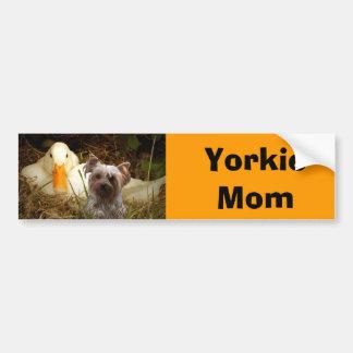 Yorkshire Terrier Mom Bumper Sticker