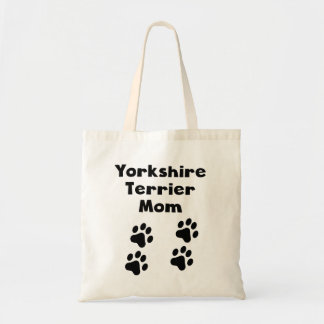 Yorkshire Terrier Mom Tote Bag