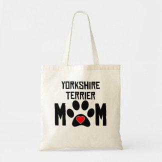 Yorkshire Terrier Mom Tote Bag