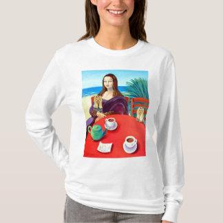 Yorkshire Terrier Mona Lisa T-Shirt