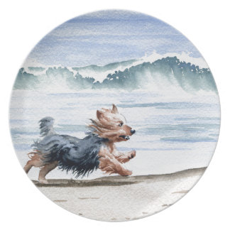 Yorkshire Terrier Party Plate