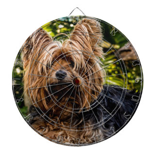 Yorkshire Terrier Pet Dog Dartboard