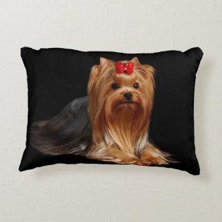Yorkshire Terrier. Pillow