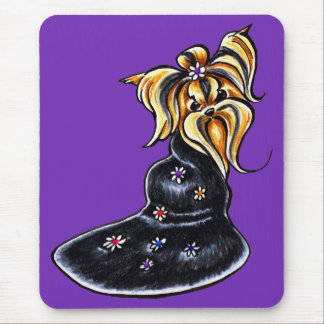 Yorkshire Terrier Pretty Performer Mouse Pad