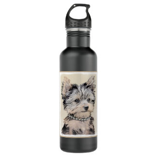 Yorkshire Terrier Puppy 710 Ml Water Bottle