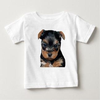 Yorkshire Terrier Puppy Art Baby T-Shirt