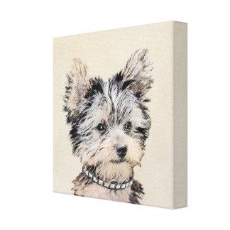 Yorkshire Terrier Puppy Canvas Print