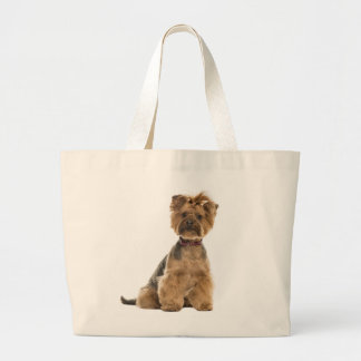 Yorkshire Terrier Puppy Dog Love Yorkies Large Tote Bag