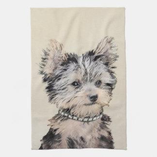 Yorkshire Terrier Puppy Kitchen Towel