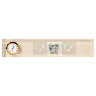 Yorkshire Terrier Puppy Name Plate