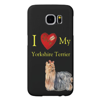 Yorkshire Terrier Samsung Galaxy S6 Cases