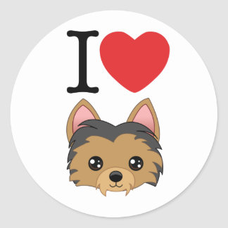 Yorkshire Terrier Stickers