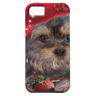 Yorkshire Terrier Strawberry Products iPhone 5 Cases