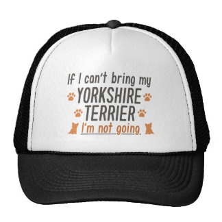 Yorkshire Terrier Trucker Hat