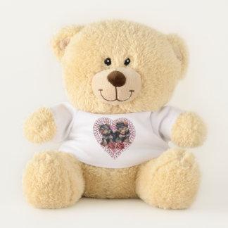 Yorkshire Terrier Valentines Day Teddy Bear