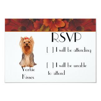 Yorkshire Terrier - Yorkie Kisses Card