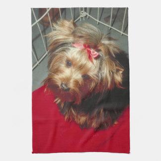 Yorkshire Terrier Yorkie Kitchen Towel