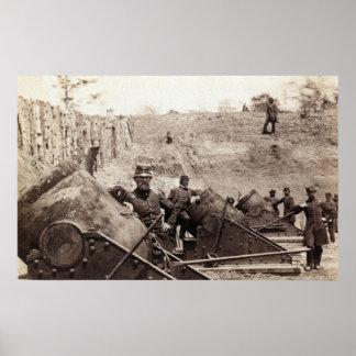 Yorktown Battery Poster